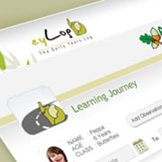 Parents have live access to the child's learning journey
